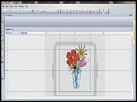 Create a quilt vase