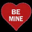 Be Mine Heart Appliqué