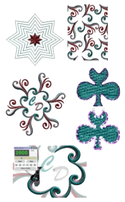 New featrues: auto-border tool, retangular & circular array, slow redraw, export to quilt formats, add new objects as close, net fill embroidery and more.