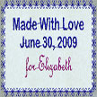 Quilt Labels and Small Lettering with Creative DRAWings®